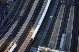 Looking down on London Bridge rail station , Michael Y - February 2013