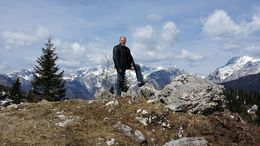 Hiking in the Kamnik Alps , Gary N - April 2015