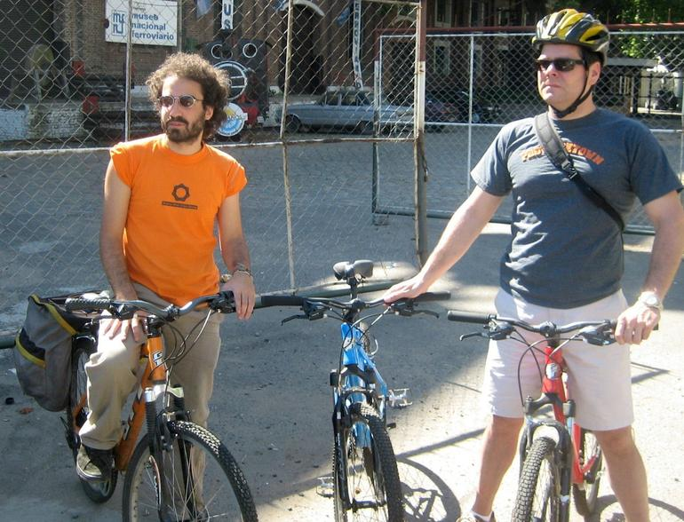 Gabriel and Tony taking a break - Buenos Aires