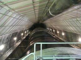 Gnerator inside the dam , Jennifer B - November 2011