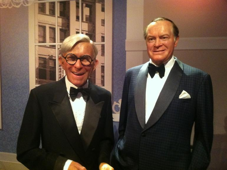 George Burns and Bob Hope - Los Angeles