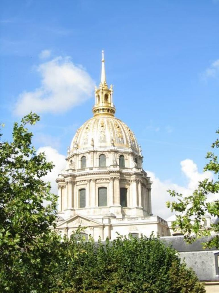 Les Invalides Dome in Paris - Paris