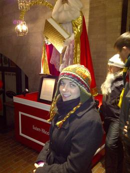 Our guide gave us interesting background on the history of Santa Claus, Timetable Tim - January 2013