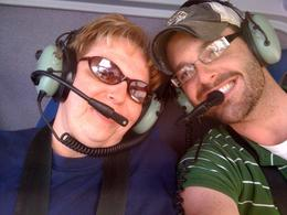 In the helicopter! - May 2010