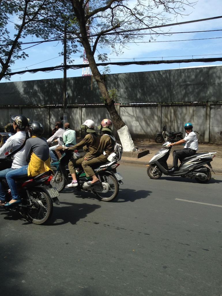 Motorbikes vietnam - Ho Chi Minh City
