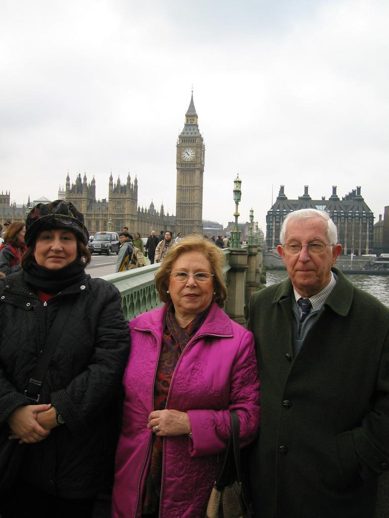 Our stop on River Thames - London