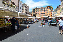 Campo de' Fiori Market, Jeff - July 2013