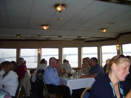 Hospitality and service was excellent and the views, as we've seen the bay, circled Alcatraz and went under the Golden Gate bridge, turned and headed back to the port. With the sun on our backs, ... , Mandy D - October 2007