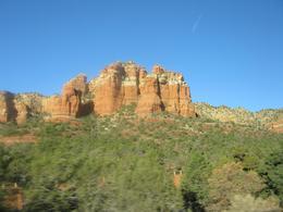 Sedona, AZ red rocks. - January 2008