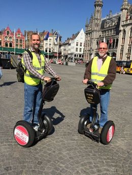 Segway tour through Bruges. What a fun and entertaining way to see this quaint village. , Mark P - September 2015