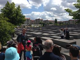 Our tour guide introducing us to the monument. , Jennifer H - August 2014