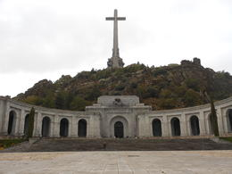 The photo is of the entrance of the Valley of the Fallen , Clive Alfred J - November 2012