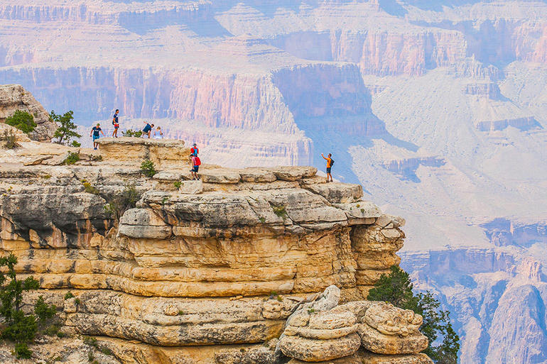 Grand Canyon South Rim Bus Tour with Optional Upgrades