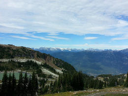 View from Whistler , Seznz - September 2013