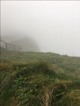 Cliffs of Moher on an extremely foggy day. , jehopa - November 2017