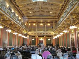 At Musikverein for Vienna Boys Choir concert - November 2011