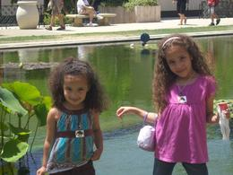 My daughters enjoying Balboa Park., Travel Mom - September 2010