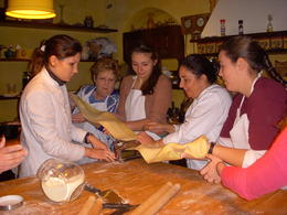 Making Pasta , Magaret P - January 2013