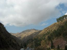 Driving through the mountains on the way to Ollantaytambo., Bandit - December 2010