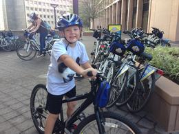 Big J biking through DC , Dana S - September 2014