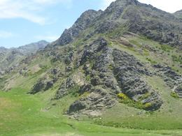 This is at the foot of the mountain - May 2012