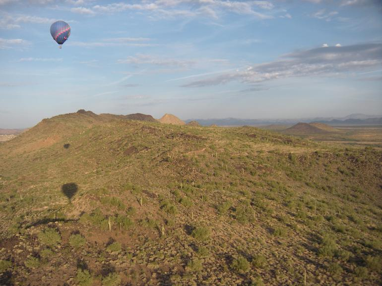 Phoenix Hot Air Balloon Ride - Incredible views - Phoenix