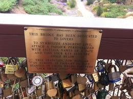 The explanation for the locks on the bridge, Kierra - August 2014