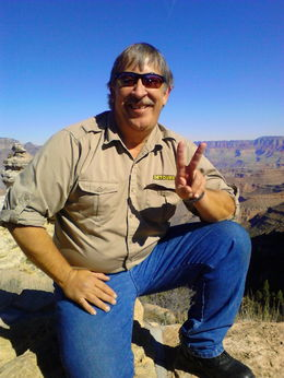 Mark at the Grand Canyon , Mary M - March 2015
