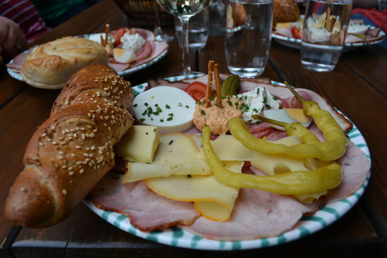 Our lunch - Vienna