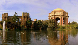 Palace of Fine Arts, San Francisco by Didier B. via Flickr ~ used under CC-BY-SA license - April 2011