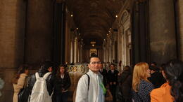 Me at the entrance of Saint Peter's Basilica , RAHUL S - April 2013