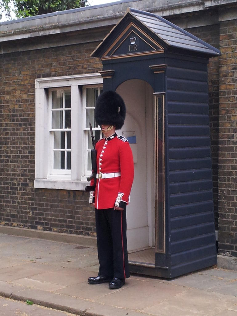 Queen's Guard at Clarence House - London