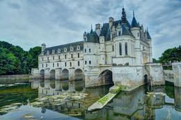 This was a very interesting and beautiful chateau with stories about its evolution and residents that were fun to hear about. , Ron and Nina'sParis Tours - June 2014