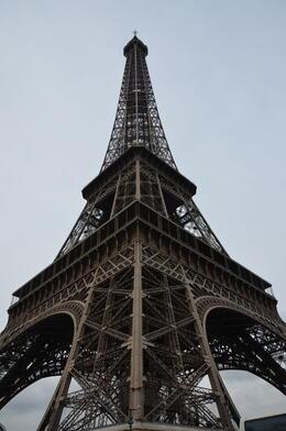 Start of Eiffel tour , Lawrence N - January 2014