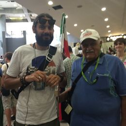 Our guide and my Father , S S C - July 2016