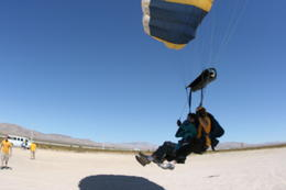 Skydiving experience. - March 2011