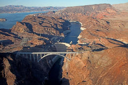 Hoover Dam from Las Vegas Helicopter Tour to the Grand Canyon, Viator Insider - January 2018