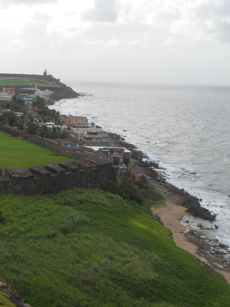 View From Fort - San Juan