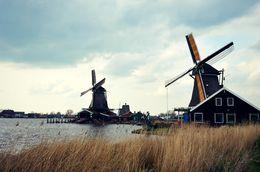 The beautiful working windmills of Zaans Schaans , Kiana C - May 2016