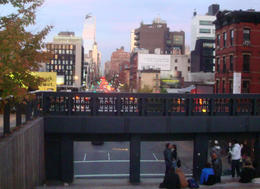 The High Line Park view. Terrific! , MARY E O - November 2016