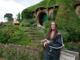 Bag End! Myself pictured , Hunter - December 2016