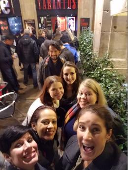 Our tour guide Carmilo with 6 women! , Sarah C - February 2017