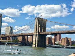 Brooklyn Bridge from the Circle Line Boat tour. , jeffngail5 - July 2017