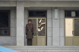 A North Korean soldier on duty. , Jason F - December 2017