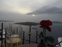Beautiful Taittinger, great atmosphere, but Cloud spoilt the Sunset !! , Abhijit B - October 2015