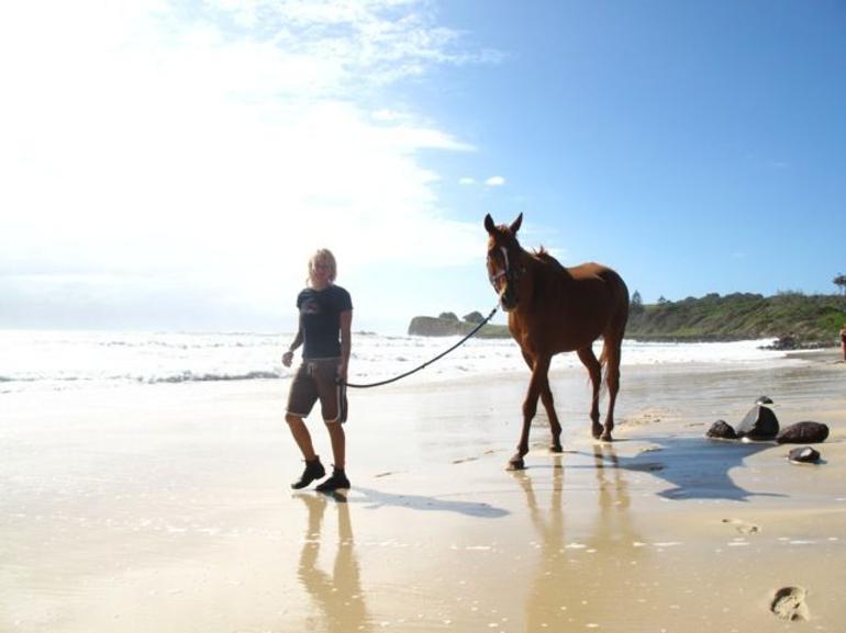 Beach life 4, Byron -
