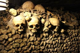 Catacombes of Paris , Amy T - October 2013
