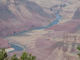 Grand Canyon and Colorado River. - January 2008
