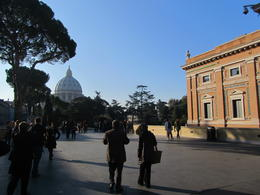 This is the first view you have on entering the museum area at the Vatican , Elizabeth J - November 2011