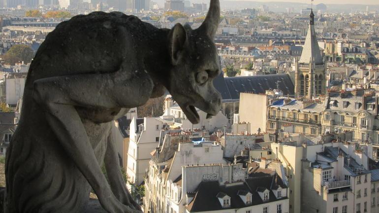 Gargoyle - Paris